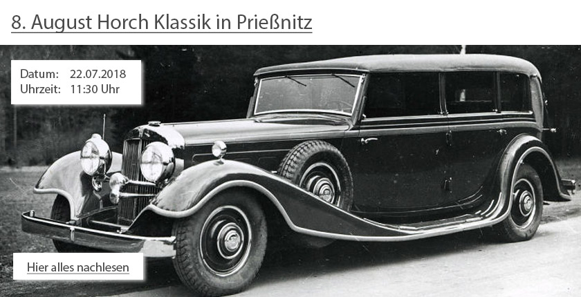 August Horch Klassik in Prießnitz